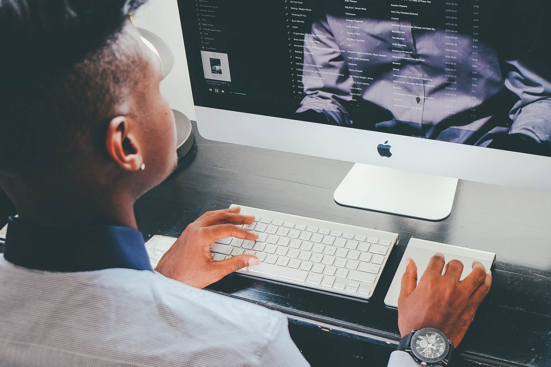 Man Browsing Assets Using ValidiFI's Account Validation Solutions