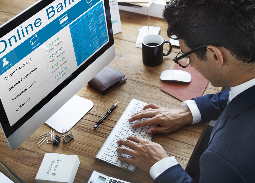 Man Online Banking Tools Using Account Validation Solutions